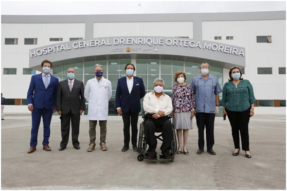 President Moreno Inspected A Hospital in Durán Built by SUMEC